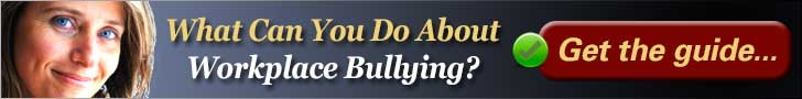 Overcome Workplace Bullying